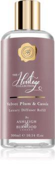Ashleigh & Burwood London The Heritage Collection Velvet Plum & Cassis reumplere în aroma difuzoarelor