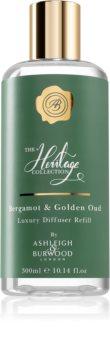 Ashleigh & Burwood London The Heritage Collection Bergamot & Golden Oud recharge pour diffuseur d'huiles essentielles