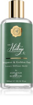 Ashleigh & Burwood London The Heritage Collection Bergamot & Golden Oud ricarica per diffusori di aromi