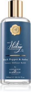 Ashleigh & Burwood London The Heritage Collection Black Pepper & Amber ricarica per diffusori di aromi