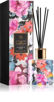 Ashleigh & Burwood London The Design Anthology Tayberry & Rose aroma diffuser with filling