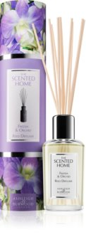 Ashleigh & Burwood London The Scented Home Freesia & Orchid diffuseur d'huiles essentielles avec recharge