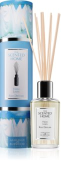 Ashleigh & Burwood London The Scented Home Fresh Linen aroma diffuser with filling