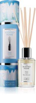 Ashleigh & Burwood London The Scented Home Fresh Linen diffuseur d'huiles essentielles avec recharge
