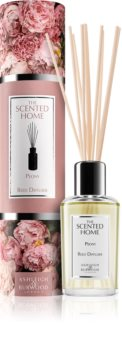 Ashleigh & Burwood London The Scented Home Peony diffuseur d'huiles essentielles avec recharge