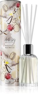 Ashleigh & Burwood London Artistry Collection White Vanilla diffuseur d'huiles essentielles avec recharge