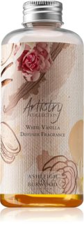 Ashleigh & Burwood London Artistry Collection White Vanilla recharge pour diffuseur d'huiles essentielles