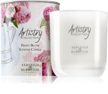 Ashleigh & Burwood London Artistry Collection Peony Blush illatos gyertya