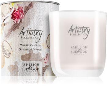 Ashleigh & Burwood London Artistry Collection White Vanilla illatos gyertya