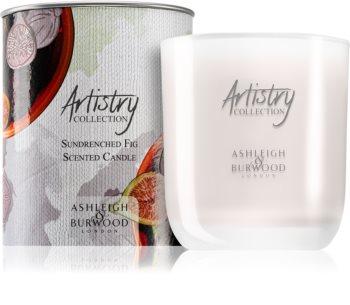 Ashleigh & Burwood London Artistry Collection Sundrenched Fig Tuoksukynttilä