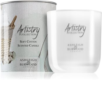 Ashleigh & Burwood London Artistry Collection Soft Cotton bougie parfumée