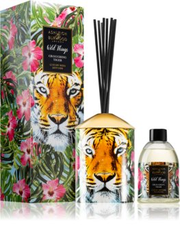 Ashleigh & Burwood London Wild Things Crouching Tiger diffusore di aromi con ricarica