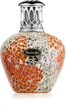 Ashleigh & Burwood London Apricot Shimmer lampada catalitica piccola (11 x 8 cm)