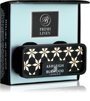 Ashleigh & Burwood London Car Fresh Linen car air freshener Clip