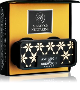 Ashleigh & Burwood London Car Mango & Nectarine ambientador auto clip