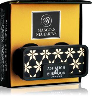 Ashleigh & Burwood London Car Mango & Nectarine άρωμα για αυτοκίνητο κλιπ