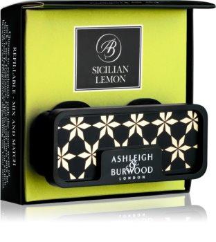 Ashleigh & Burwood London Car Sicilian Lemon ambientador auto clip