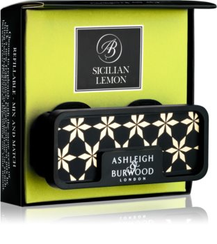 Ashleigh & Burwood London Car Sicilian Lemon car air freshener Clip
