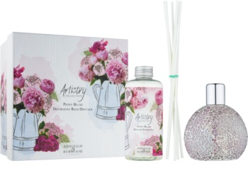 Ashleigh & Burwood London Artistry Collection Peony Blush diffuseur d'huiles essentielles avec recharge