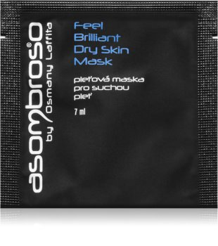 Asombroso by Osmany Laffita Feel Brilliant hidratantna maska za suho lice
