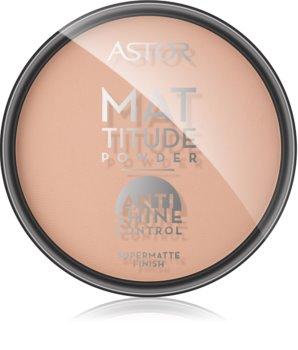 Astor Mattitude Anti Shine polvos matificantes