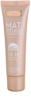 Astor Mattitude Anti Shine fond de teint matifiant
