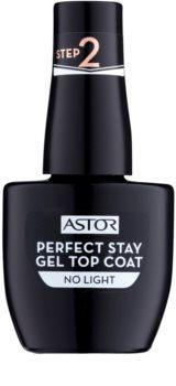 Astor Perfect Stay Gel Top Coat vrchní gelový lak na nehty bez užití UV/LED lampy