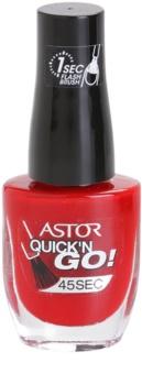 Astor Quick'n Go! esmalte de uñas