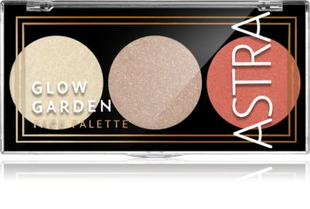 Astra Make-up Palette Glow Garden paleta rozjasňovačů