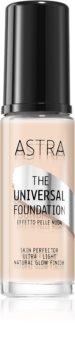 Astra Make-up Universal Foundation Light Foundation with Brightening Effect