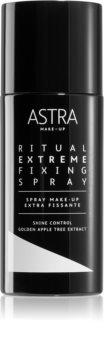 Astra Make-up Ritual Extreme Fixing Spray Erittäin Voimakas Meikin Asetussuihke