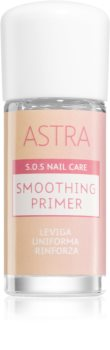 Astra Make-up S.O.S Nail Care Smoothing Primer Mjukgörande bas-täckning