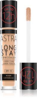 Astra Make-up Long Stay korektor z visoko prekrivnostjo SPF 15
