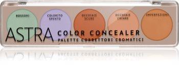 Astra Make-up Palette Color Concealer paleta korektorjev
