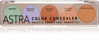 Astra Make-up Palette Color Concealer παλέτα διορθωτών