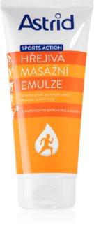 Astrid Sports Action Massage Crème  met Verwarmende Effect