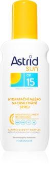 Astrid Sun молочко-спрей для загара SPF 15