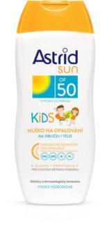Astrid Sun Kids detské mlieko na opaľovanie SPF 50