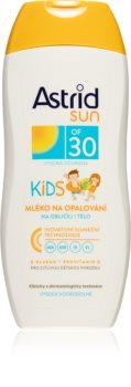 Astrid Sun детское молочко для загара SPF 30