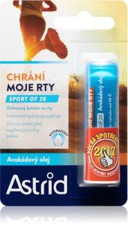 Astrid Lip Care Sport of 20 zaščitni balzam za ustnice (limitirana edicija)