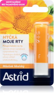 Astrid Lip Care regeneracijski balzam za ustnice z vrtnim ognjičem