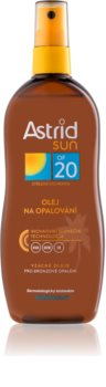 Astrid Sun olio abbronzante in spray SPF 20