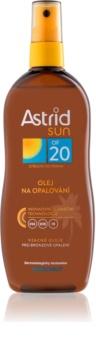 Astrid Sun olje v pršilu za sončenje SPF 20