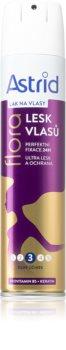Astrid Hair Care лак за коса със средна фиксация за сияен блясък