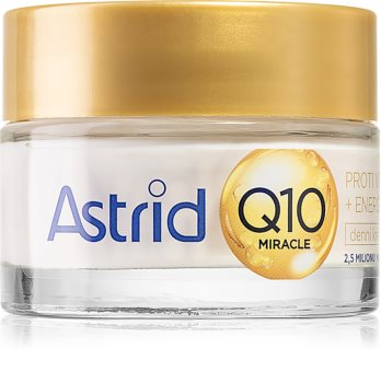 Astrid Q10 Miracle dnevna krema proti gubam s koencimom Q10