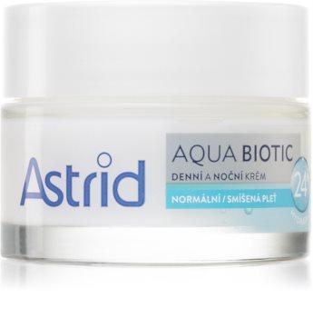 Astrid Aqua Biotic Dag og natcreme med fugtgivende virkning
