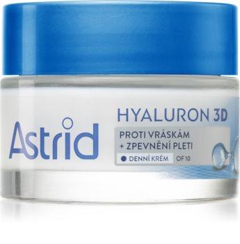 Astrid Hyaluron 3D intensive feuchtigkeitsspendende Creme gegen Falten