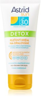 Astrid Sun Face Sunscreen with Detoxifying Effect