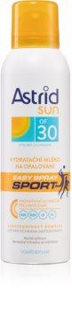 Astrid Sun Sport зволожуюче молочко для засмаги у формі спрею