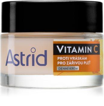 Astrid Vitamin C crème de jour anti-rides pour une peau éclatante